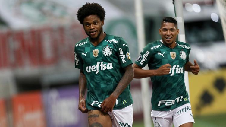 Luiz Adriano comemora contra Del Valle - Divulgação/Conmebol - Divulgação/Conmebol
