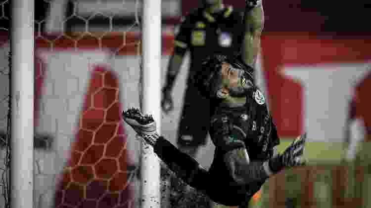 Marcelo Carné, goleiro do Juventude, enfrenta o Inter neste sábado - Fernando Alves/Juventude - Fernando Alves/Juventude
