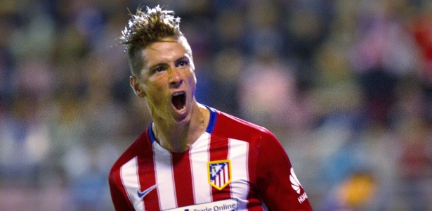 Fernando Torres está em baixa no Atlético de Madri e pode deixar o clube