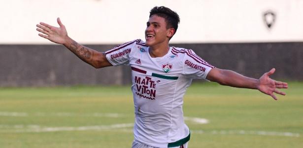 ´Formado  em Xerém, atacante Pedro é a grande aposta do Fluminense  - MAILSON SANTANA/FLUMINENSE FC
