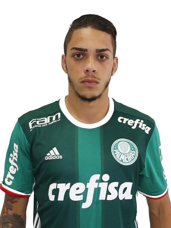 Léo Santos, zagueiro sub-20 do Palmeiras