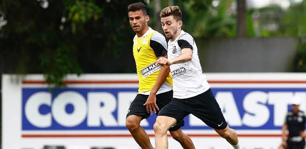 Lucas Lima e Thiago Maia podem deixar o Santos nos próximos meses