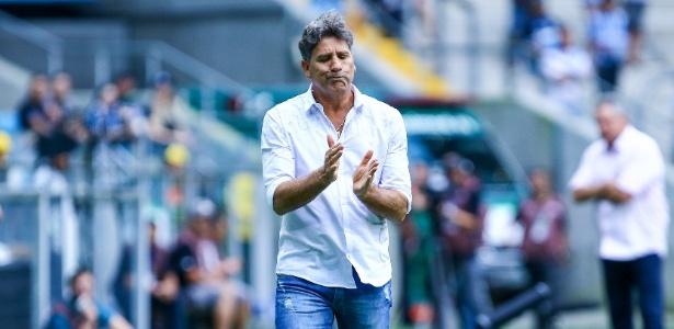 Renato Gaúcho mostrou-se satisfeito depois da renovação de contrato com Grêmio