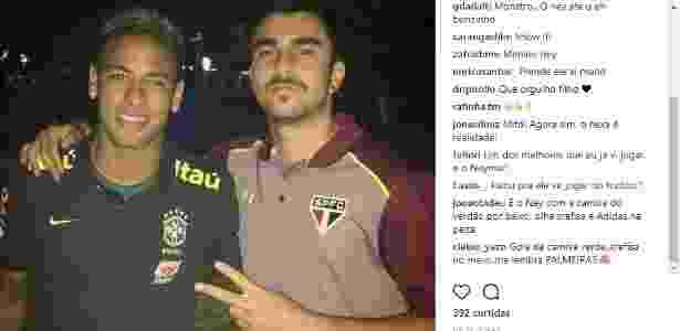 Palmeiras pede ajuda para filha de Cuca para entregar camisa a Neymar 70f63f89f8ea2