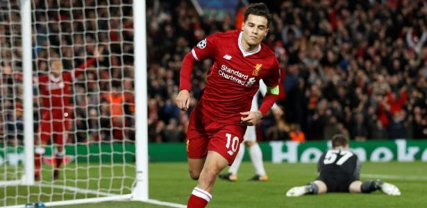 Philippe Coutinho comandou o baile do Liverpool sobre o Spartak Moscou