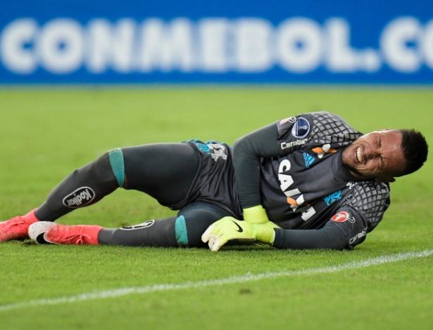Diego Alves mudou o clima no grupo e trouxe um problema fora de hora para o Flamengo - Thiago Ribeiro/AGIF