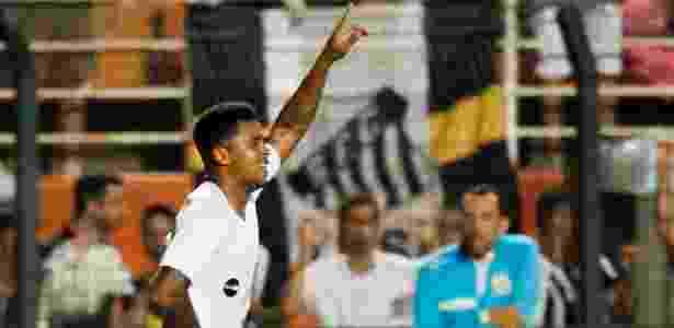 Diogo Vitor foi sorteado para exame antidoping também no clássico contra o Palmeiras - Divulgação/Santos FC