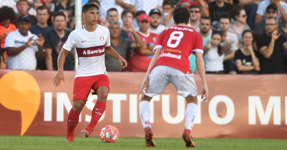 Sarrafiore, durante jogo entre Inter e São Luiz