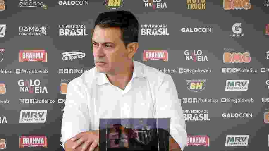 Rui Costa, diretor de futebol do Atlético-MG, fala sobre ações no mercado da bola - Bruno Cantini/Divulgação/Atlético-MG