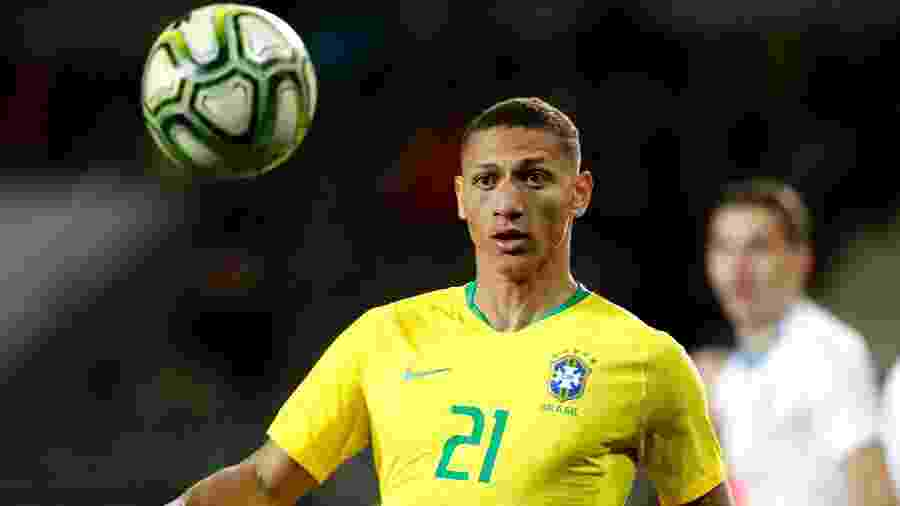 Richarlison foi convocado pelo técnico Tite para disputa da Copa América - Soccrates/Getty Images