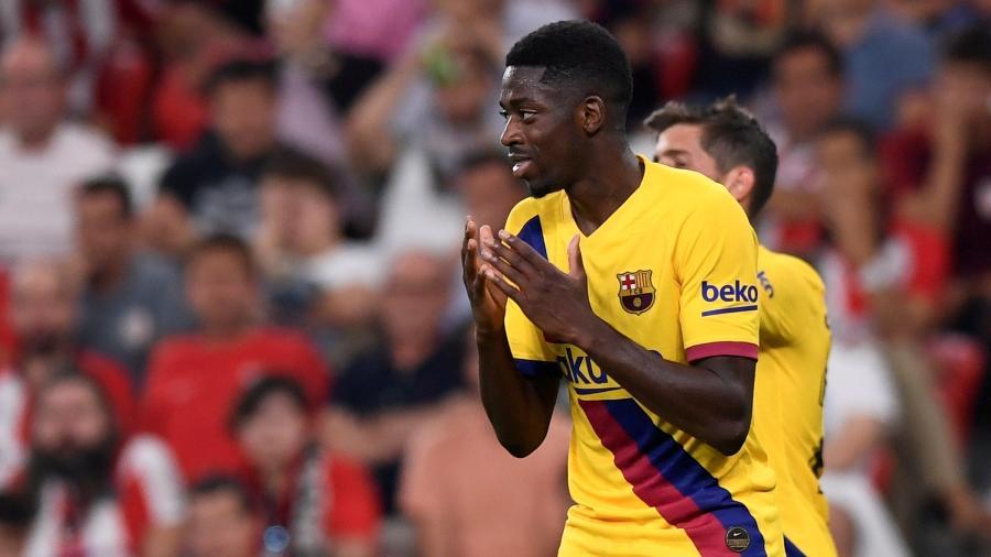 Atacante francês sofre com lesões e não consegue ter sequência no time titular do Barça - REUTERS/Vincent West