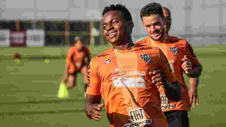Juan Cazares não participa de um gol do Atlético-MG há mais de um mês - Bruno Cantini/Divulgação/Atlético-MG