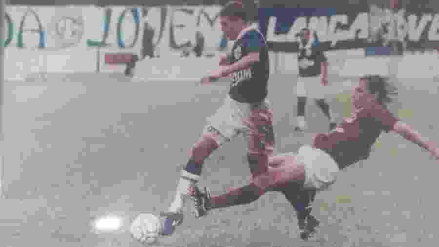 Fabio Augusto fez parte do Guarani que chegou perto da final do Brasileiro em 94 - Arquivo pessoal/Fabio Augusto