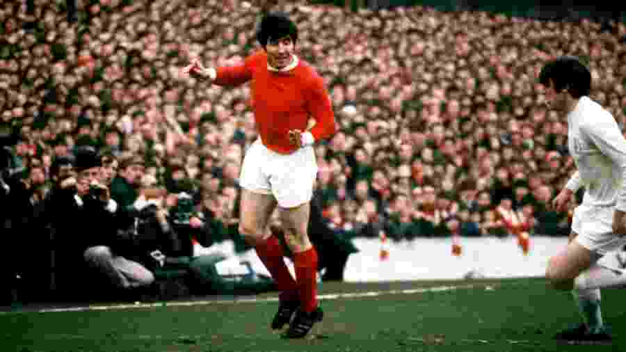 Lateral defendeu o Manchester United entre 1960 e 1973 e foi campeão europeu em 1968 - Peter Robinson/EMPICS via Getty Images