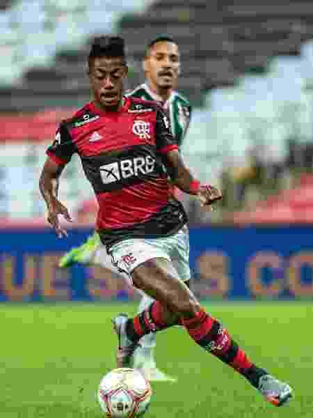 Bruno Henrique não é uma boa opção para o começo do jogo - Marcelo Cortes/Flamengo