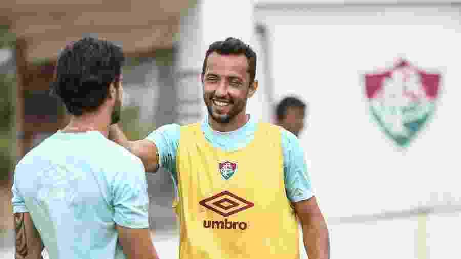 Artilheiro do Fluminense em 2020, Nenê está de volta ao time contra o Ceará  - Lucas Mercon/Fluminense FC
