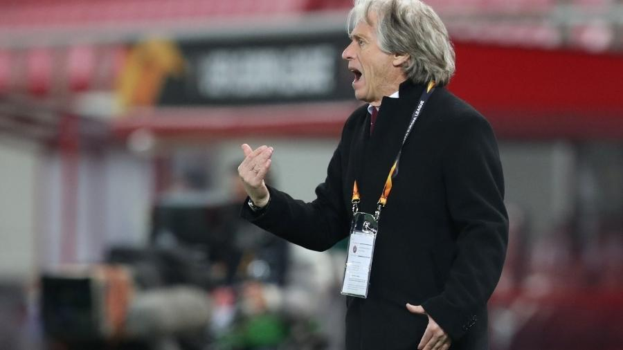 Jorge Jesus não agradou muito no primeiro ano de retorno no Benfica - REUTERS/Alkis Konstantinidis