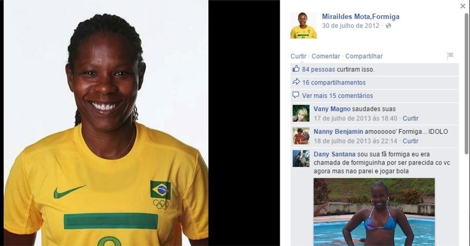 Miraildes Mota - futebol