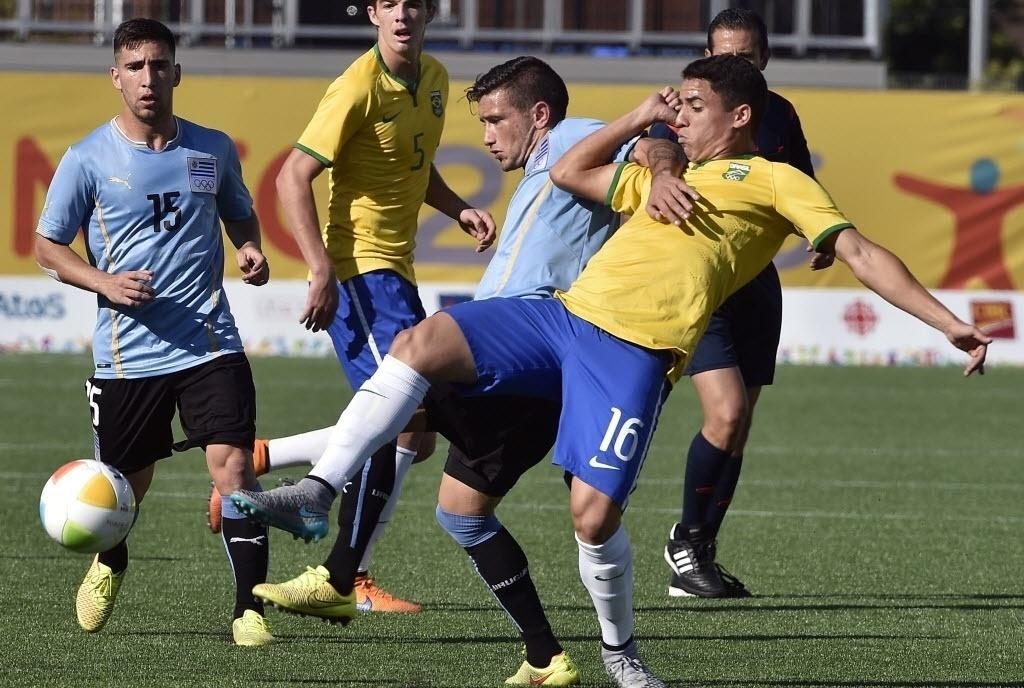 Brasil e Uruguai fizeram semifinal travada no futebol masculino dos Jogos Pan-Americanos