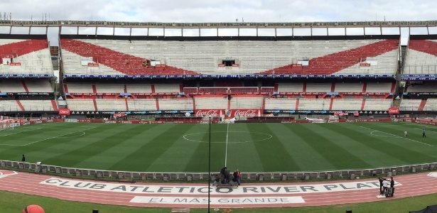 Ameaças têm sido comuns no Estádio Monumental de Nuñez