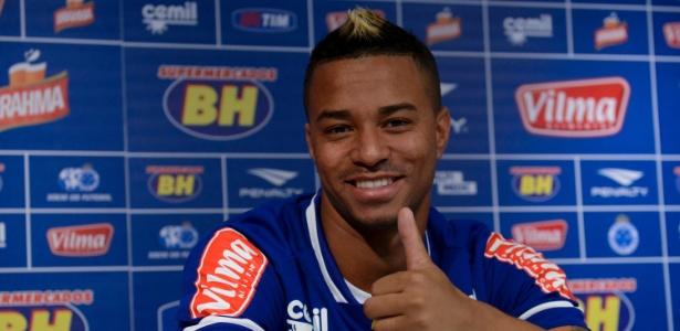 Rafael Silva, atacante do Cruzeiro