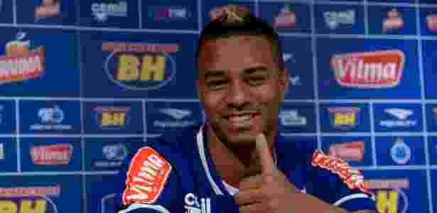 Rafael Silva, atacante do Cruzeiro - Wahington Alves/Light Press - Wahington Alves/Light Press