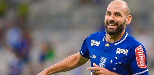 Gol de pé foi marcado já no final da partida e valeu a vitória contra o Villa Nova - Juliana Flister/Light Press/Cruzeiro