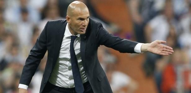 Zidane orienta o Real Madrid na semifinal da Liga dos Campeões contra o Manchester City