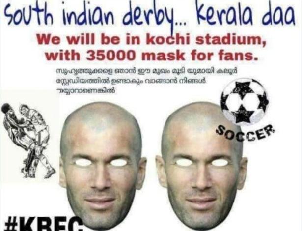 Máscaras serão distribuídas no estádio durante clássico do Indiano