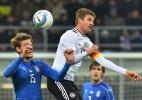 Em revanche, Alemanha suporta pressão da Itália e garante empate em Milão - Marco Bertorello/AFP