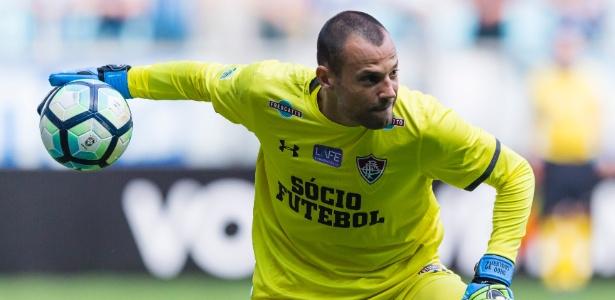 Diego Cavalieri não esperava notícia da dispensa no Flu