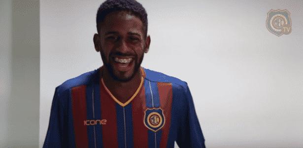 Ruan jogou no Madureira e estava no Boa Esporte, agora é alvo do Inter - Reprodução