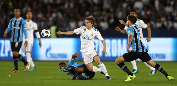 Modric brilhou na final do Mundial e foi eleito o melhor jogador do torneio