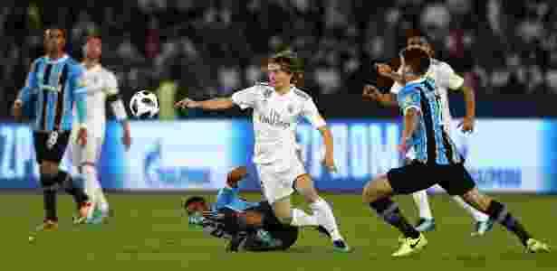 Modric brilhou na final do Mundial e foi eleito o melhor jogador do torneio - François Nel/Getty Images