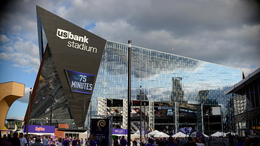 "US Bank Stadium, estádio que receberá o Super Bowl, é um ""assassino"" de pássaros - Hannah Foslien/Getty Images"