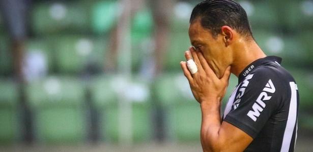 Camisa 9 não se recuperou de virose e perde o jogo contra o Flamengo no Independência - Pedro Souza/Atlético-MG