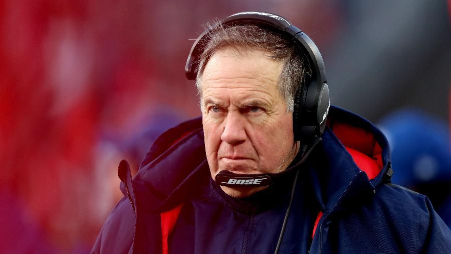 Bill Belichick, técnico do New England Patriots - Adam Glanzman/Getty Images/AFP