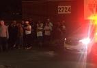 Organizada faz protesto tímido no CT do SPFC e deve repetir ato na segunda - Eduardo Lucizano/UOL