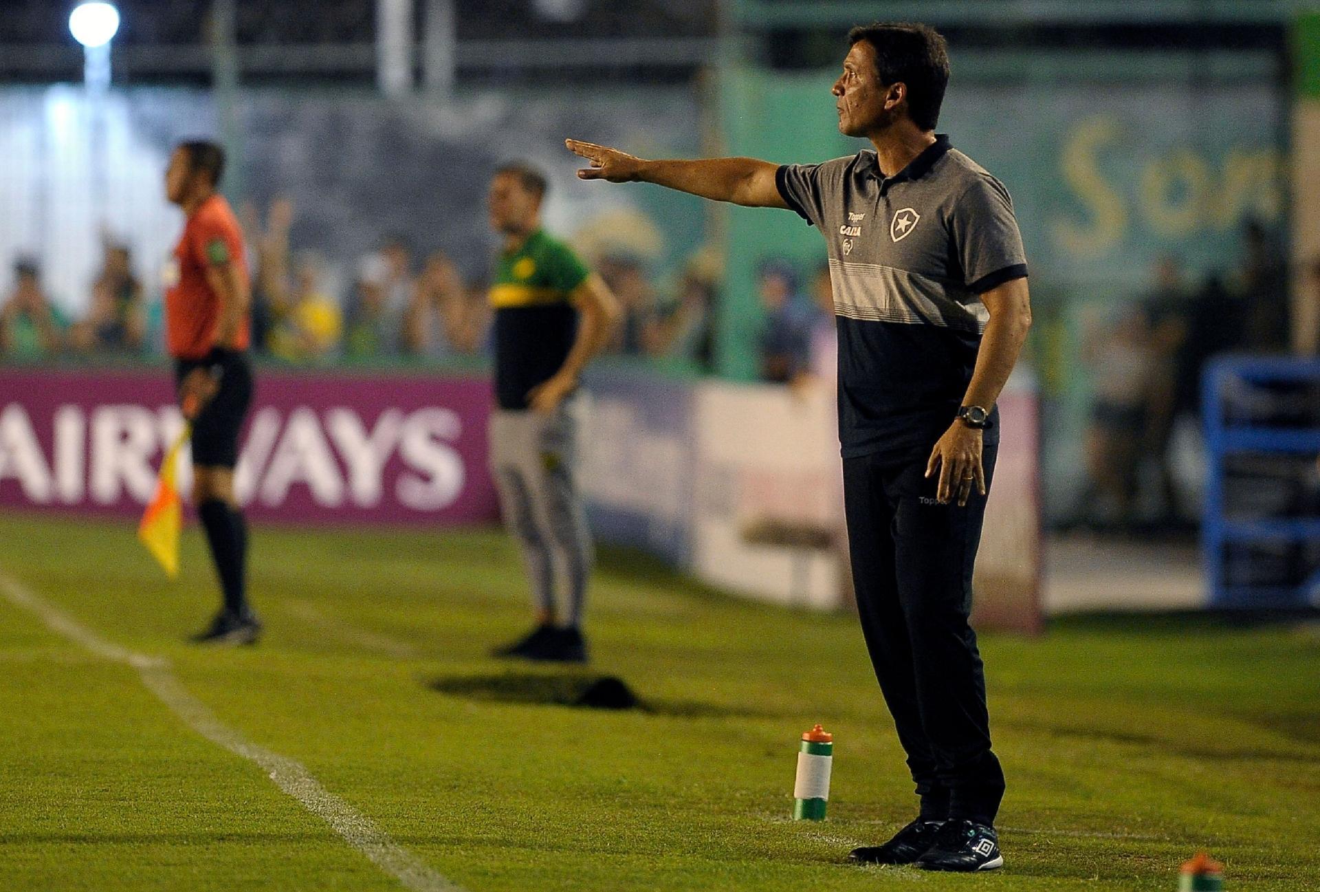 0b2094a96b6c7 Botafogo estuda demissão de Zé Ricardo pela primeira vez após tropeço em  copa