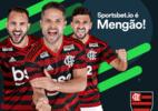 Clubes ligam alerta após queda de 22% em verba de publicidade - Reprodução / site Flamengo