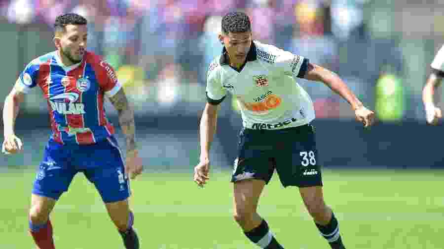 Bahia e Vasco se enfrentam na Arena Fonte Nova, em Salvador (BA), pela 37ª rodada do Campeonato Brasileiro - Thiago Ribeiro/AGIF