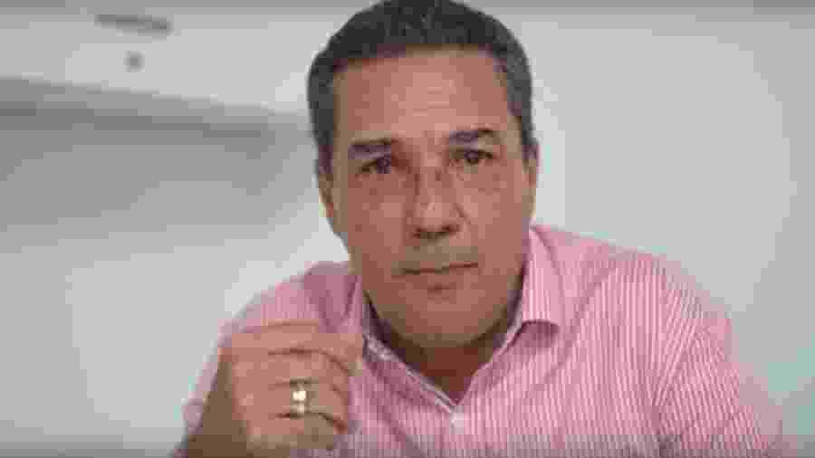 Câncer de pele do técnico Vanderlei Luxemburgo, do Vasco, foi diagnosticado na região do nariz - Reprodução Vasco TV