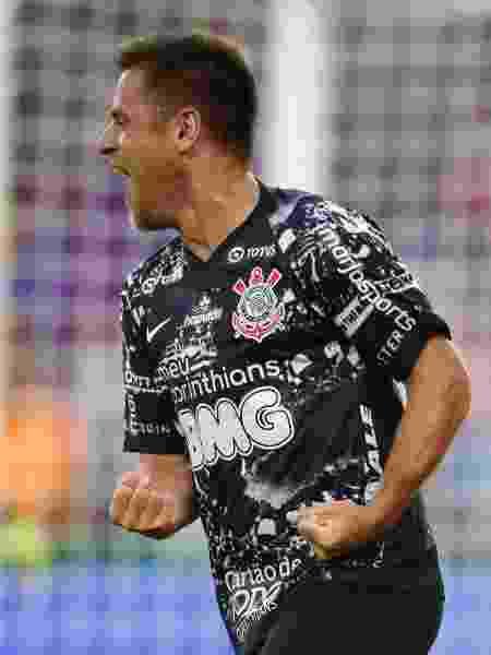 Ramiro celebra gol pelo Corinthians contra o Atlético Nacional - Rafael Ribeiro/Florida Cup