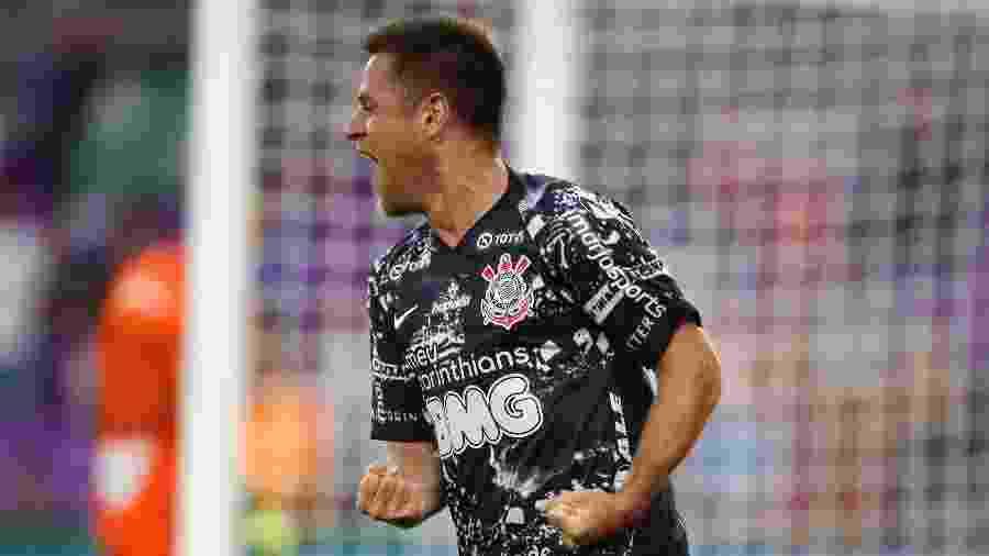 Ramiro celebra gol pelo Corinthians contra o Atlético Nacional, em jogo da Florida Cup - Rafael Ribeiro/Florida Cup
