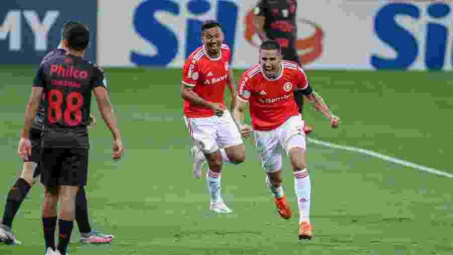 Thiago Galhardo será um dos mais escalados - Fernando Alves/AGIF
