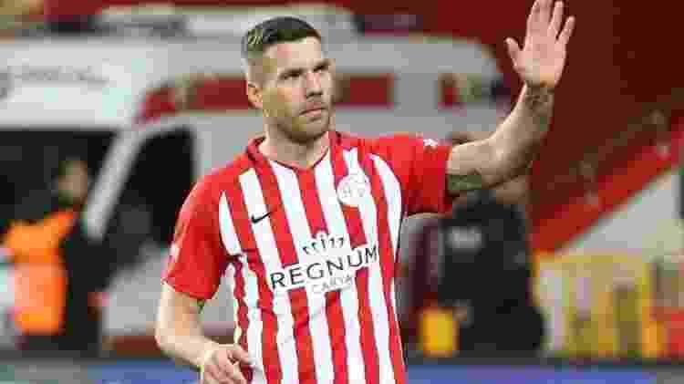 Lukas Podolski (Antalyaspor) - Divulgação - Divulgação