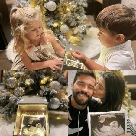 Alisson Becker anuncia que será pai pela terceira vez - Reprodução/Instagram