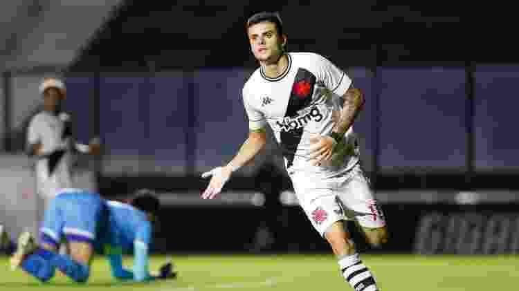 Gabriel Pec, de 19 anos, foi destaque no título da Copa do Brasil sub-20 e retornou ao profissional do Vasco - Rafael Ribeiro / Vasco - Rafael Ribeiro / Vasco