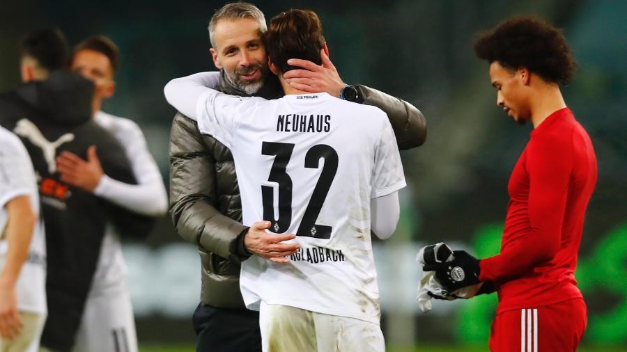Moenchengladbach virou sobre o Bayern de Munique no Campeonato Alemão - WOLFGANG RATTAY/AFP