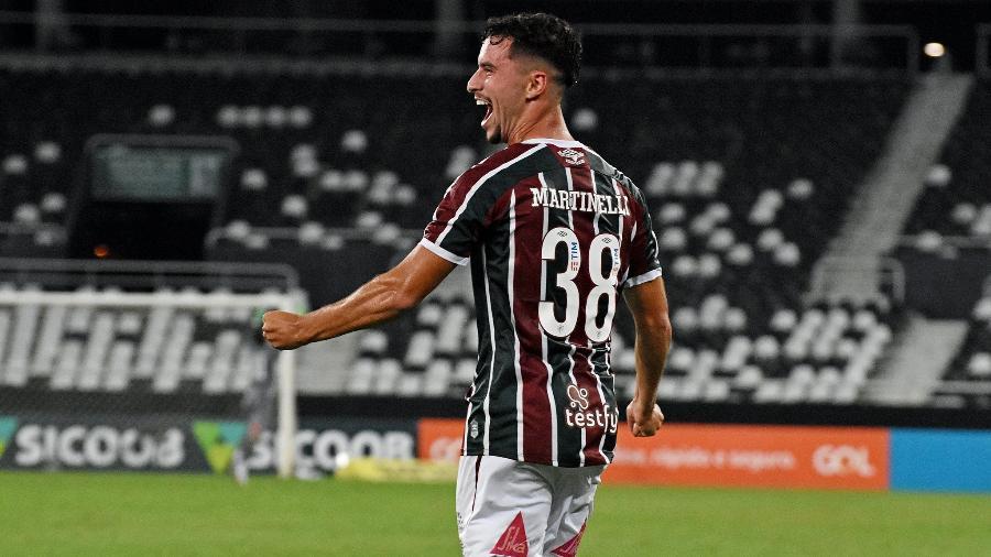 """Martinelli será titular do Fluminense em """"decisão"""" por Libertadores contra o Fortaleza no Brasileirão - Mailson Santana/Fluminense FC"""